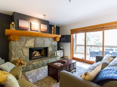 Photo for SPECTACULAR SKI IN/OUT Family Home:Wood Fireplace, BBQ, Patio,5 min to Whistler Village