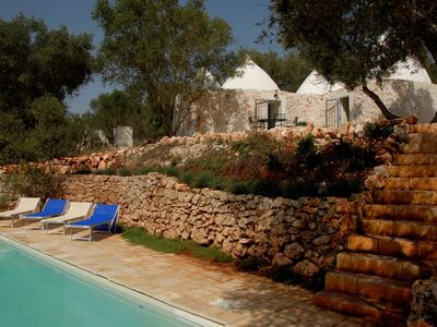 Photo for Trulli Pecorino 2 Bed / 2 Bath, w/ Private Pool, free WiFi – Bellisimo