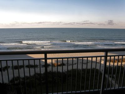 Photo for Beautiful CLEAN 5 BR/4B Oceanfront Luxury Condo, Huge Balcony, Media Room 5 STAR