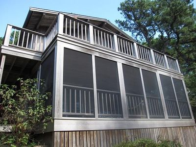 "Photo for Wellfleet 3 Bedroom ""Upside Down"" House"