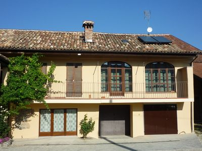 Photo for The Vigna del Parroco 2 is a holiday house with two apts in Serralunga d'Alba