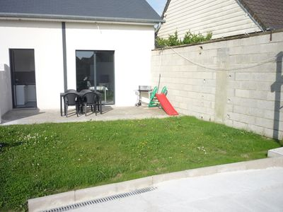 Photo for The rental of the Bay: 4 people in Saint-Valery, parking and garden