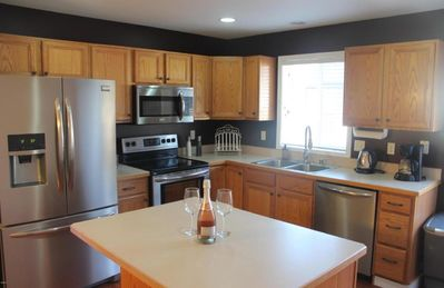 Photo for Luxurious Townhome Minutes From Beautiful Downtown, Golf Course, And Ski Area