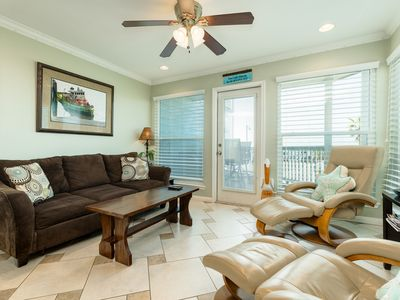 Photo for NEW LISTING! Gulf-front condo w/balcony, beach access & resort hot tub/pool