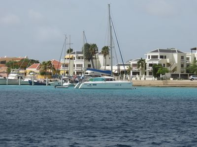 Club Nautico viewed from the water .