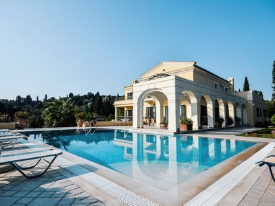 Photo for Luxury Villa Ellania in uphill with seaview