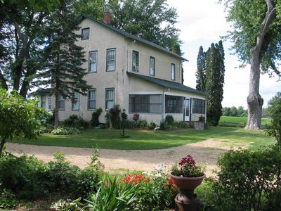 Photo for Historic Home - OLD CENTURY FARM HOUSE - near Devil's Lake State Park & WI Dells