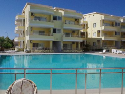 Photo for A Luxury 4 Bed Duplex Apartment in Didim on a complex with swimming pool
