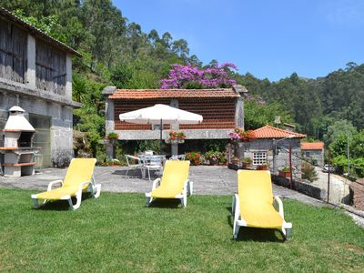 Photo for Holiday house with pool, beautiful views and close to Gerês