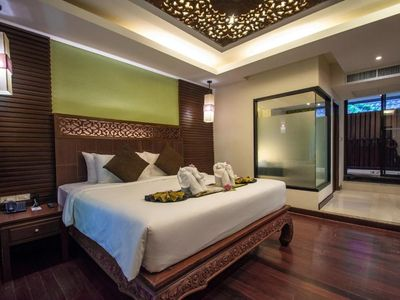 Photo for Cozy King Bed ,Villa with Spa Bath +ABF(V6)