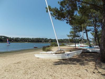 Photo for The beach Hossegor 2 steps for this apartment 4 people