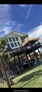 Photo for Beautiful Morning View on a huge deck! Beachfront~PetFriendly~Spa~WIFI~Satellite