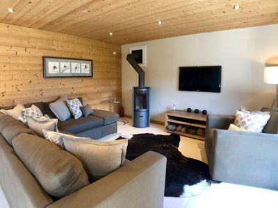 Photo for Stylish Self Catered Ski Chalet In Central Morzine