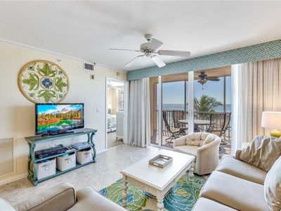 Photo for Estero Island Beach Villas 304,  Sleeps 6, 2 Bedrooms, Gulf Front, Heated Pool