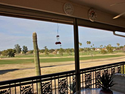 Photo for Beautiful Sunsets & Golf Course View from This Sun City West Fully Furnished