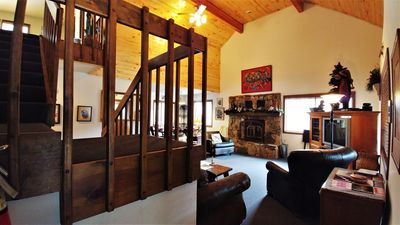Photo for Lovely Home right on the River, Great for Large Parties, WIFI, W/D, Grill/Smoker
