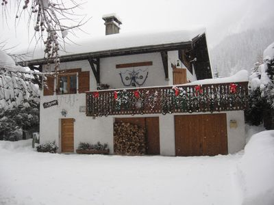 Photo for Apartment in chalet near the Grand Montets ARGENTIERE (HAUTE-SAVOIE)