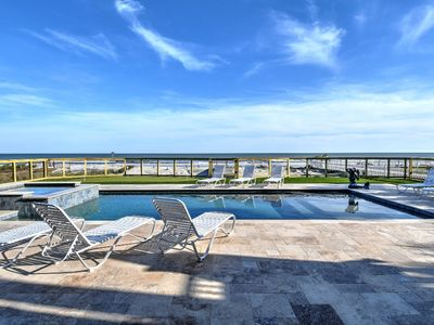Photo for 20% OFF! Dolphin Manor on Isle of Palms ~ OCEAN FRONT, PRIVATE POOL, HOT TUB!