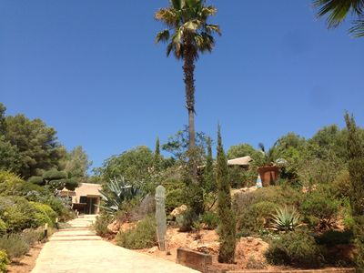 Photo for Stunning peaceful finca close to golf club, Cala Llonga, on the edge of a forest