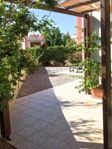 Photo for Nice apartment with large private terrace with sea view
