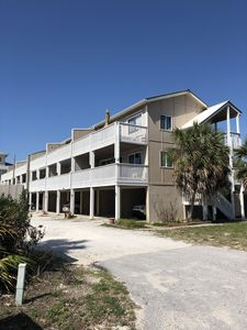 Located on the west end of Panama City Beach, the complex has only 12 units.