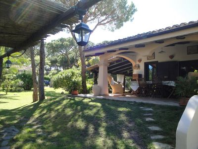 Photo for Villa Stella Close to the Beach with Wi-Fi, Air Conditioning, Garden & Terrace; Parking Available