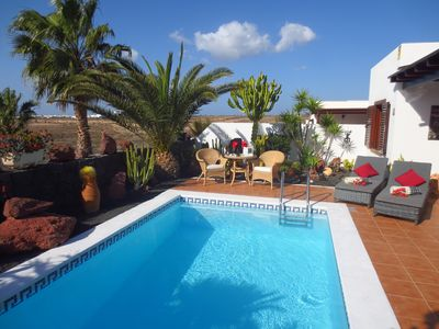 Photo for New, wellness, tranquil location, private heated pool, sea view, jacuzzi