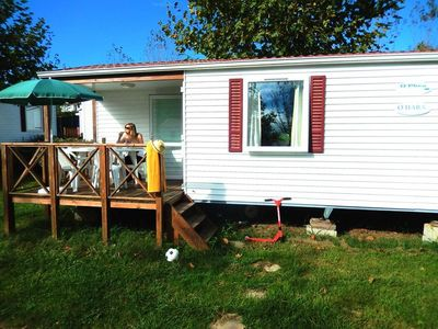 Photo for Camping Harrobia *** - Mobil Home 3 Rooms 4/5 People