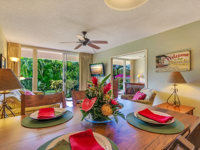 Photo for Tropical Retreat, Updated,  Steps to Kamaole Beach II, Check Out Our Reviews!