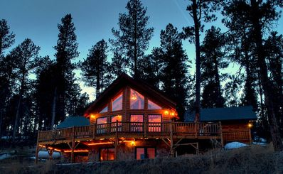 Photo for Beautiful Cabin near Deadwood and Sturgis