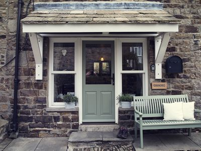Photo for Dinmore, a quirky stone cottage for 2 people near the green in Reeth, Swaledale