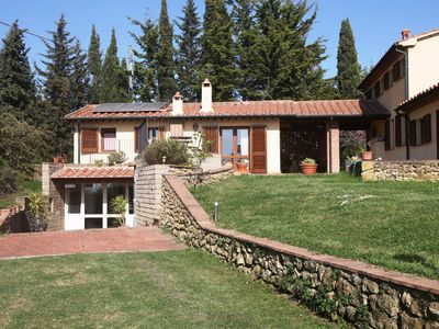 Photo for 1BR Apartment Vacation Rental in Montescudaio, Toscana