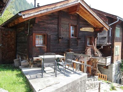 Photo for Very open chalet with comfortable and rustic décor.