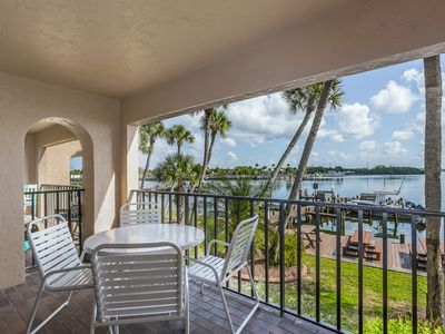 Photo for NEW LISTING! Bayview escape w/shared pool, shared gas grill & easy beach access