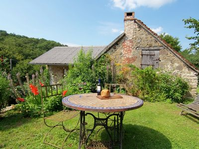 Photo for Romantic cottage in historic spot with magnificent view.