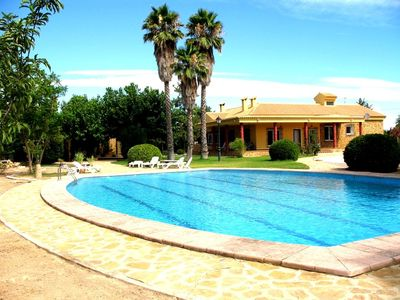 Photo for 4 Bedroom Detached Villa with Pool Camino Carrasca in Aspe Costa Blanca
