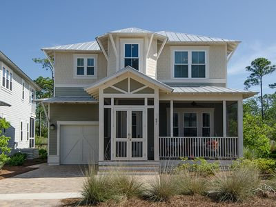 Photo for Gorgeous, New 3BR Beach Vacation Home, Private Water Views, Walking Trails