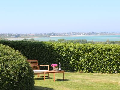 Photo for Breathtaking sea view! Nice quiet holiday home with a large garden by the sea