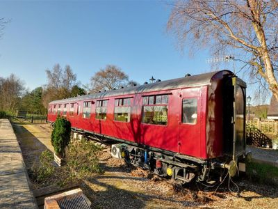 Photo for Vacation home Oscar Railway Carriage in Cloughton - 6 persons, 3 bedrooms