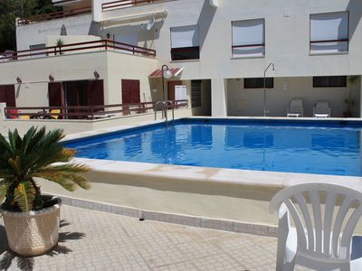 Photo for Apartment close to the sea, with magnificent swimming pool