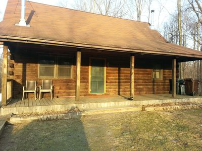 Photo for Spacious Log Cabin Located Between The Famous Salmon And Oswego Rivers