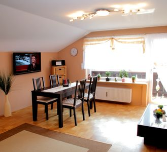 Photo for New, modern, quiet, comfortable holiday flat near Zugspitze