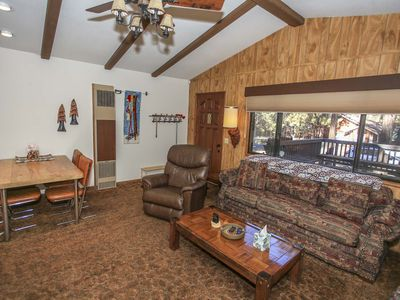 Photo for ~Cozy Hollow~Furnished Central Cabin~Great Sun Deck & Patio Area~