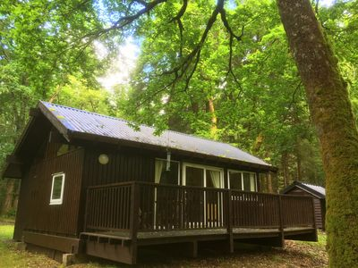Photo for KINGLAS is a charming cabin in a lovely, peaceful location deep in the forest
