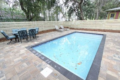 Private Heated Pool with Large Pool Deck