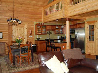Photo for MAGNIFICENT FINNISH LOG HOME WITH SAUNA AND A/C - WELCOME TO RELAX !