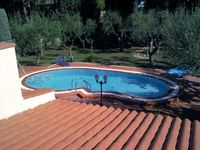 Lovely spacious villa, well equipped and comfortable with a large private garden and pool.