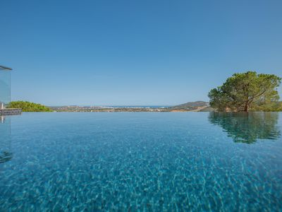 Photo for Villa with views of the Mediterranean Sea. Infinity pool. Wifi.