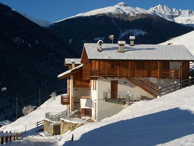 Photo for Cozy apartment in Val di Rabbi in a sunny and panoramic position