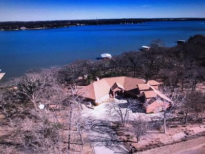 Photo for Peaceful & Beautiful Lake Front 3 BR/3 BA Hideaway on Eagle Mountain Lake